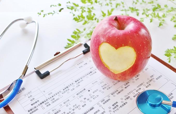 りんごと問診票